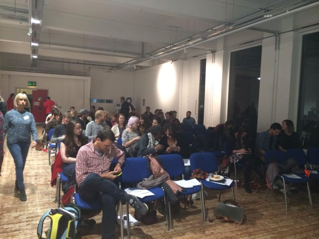 Such a great turnout for the public event 'does poverty porn undermine the welfare state' #mediapovertywelfare http://t.co/JVcocztvp0