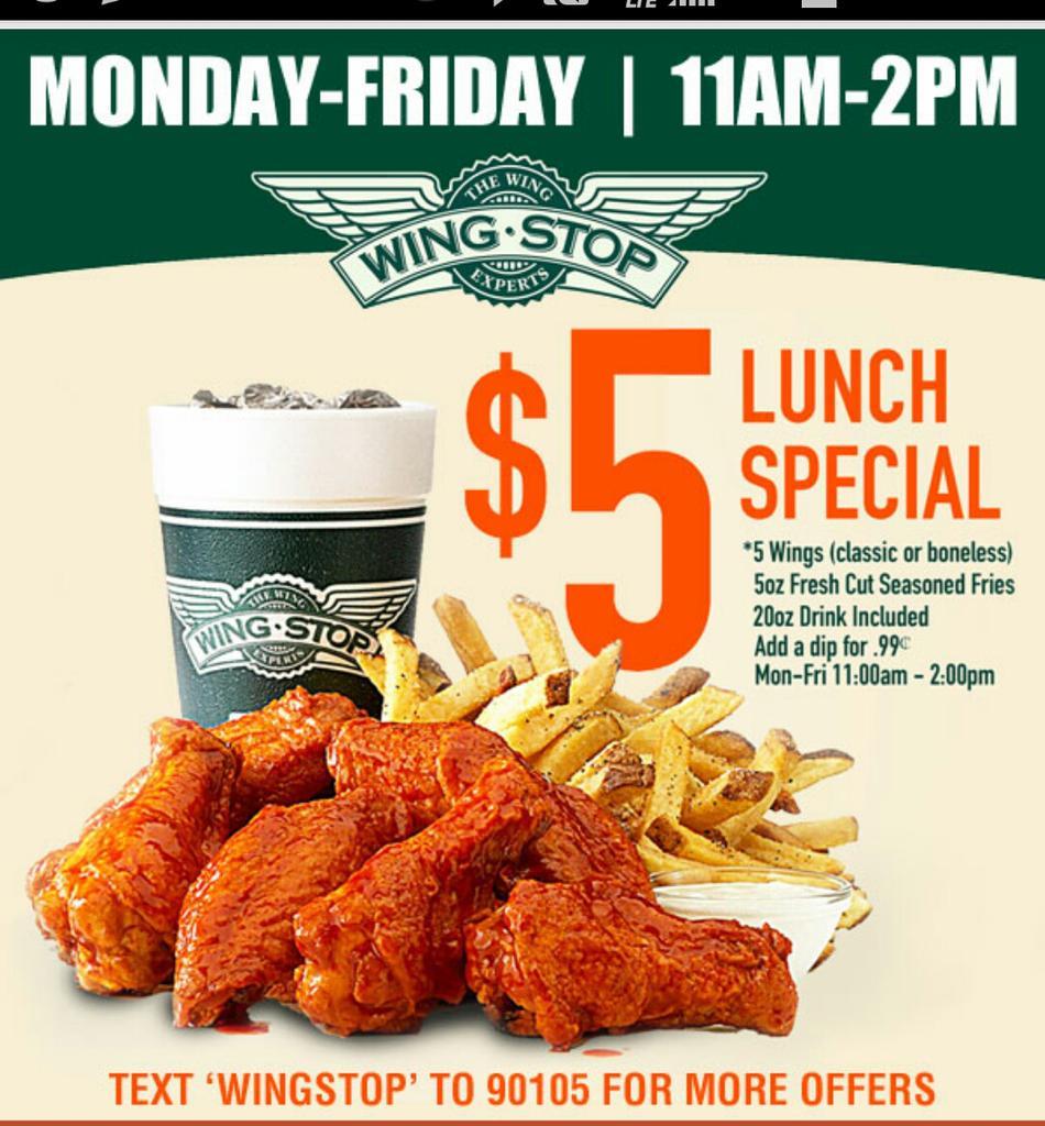 Order Online at Wingstop Loop Denton, Denton. Pay Ahead and Skip the Wait.
