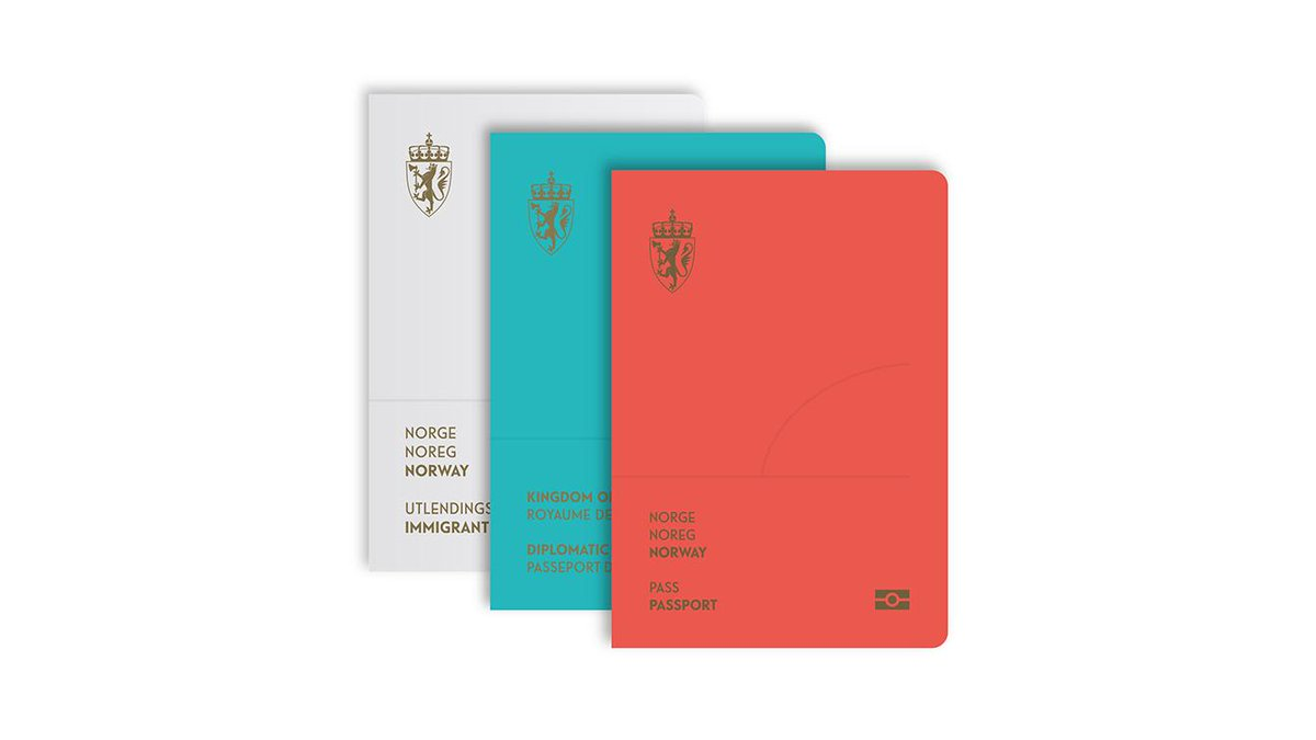 The new Norway passport is as good as their beautiful money: neue.no http://t.co/s7GYxbJ2sF