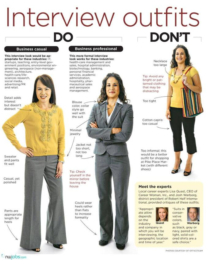 what to wear for law interview