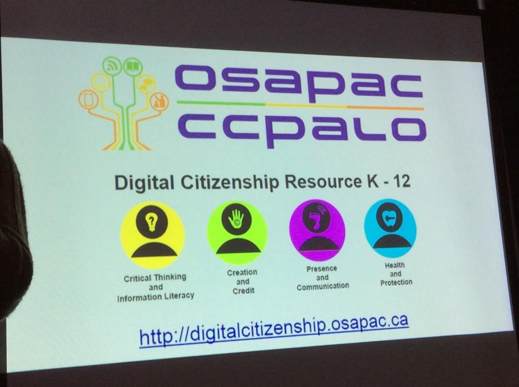 """""""@Johnie60: ENDORSED! Digital citizenship teacher resources launched today by OSAPAC!! #bit14 @kprdsb http://t.co/xHA7ahujpG"""""""