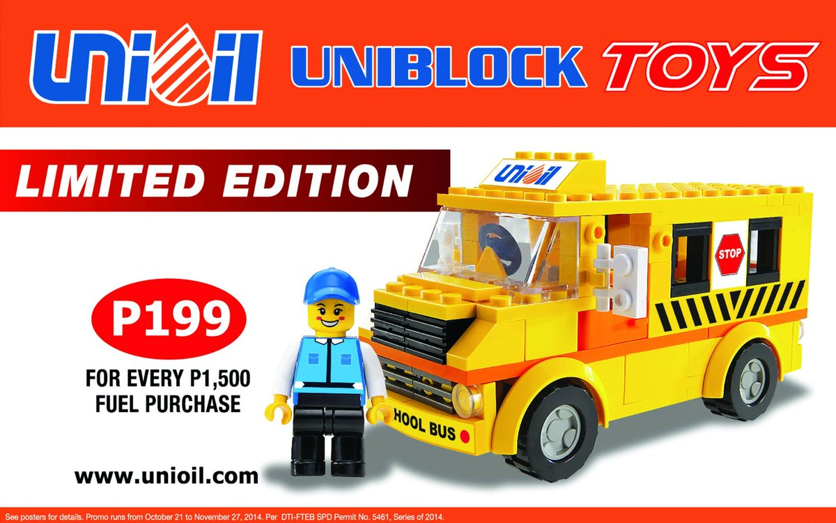 Unioil On Twitter Get This Uniblock School Bus And 5 More Limited