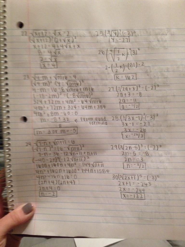 Solving Radical Equations Worksheet Math 154b Tessshebaylo – Solve Radical Equations Worksheet