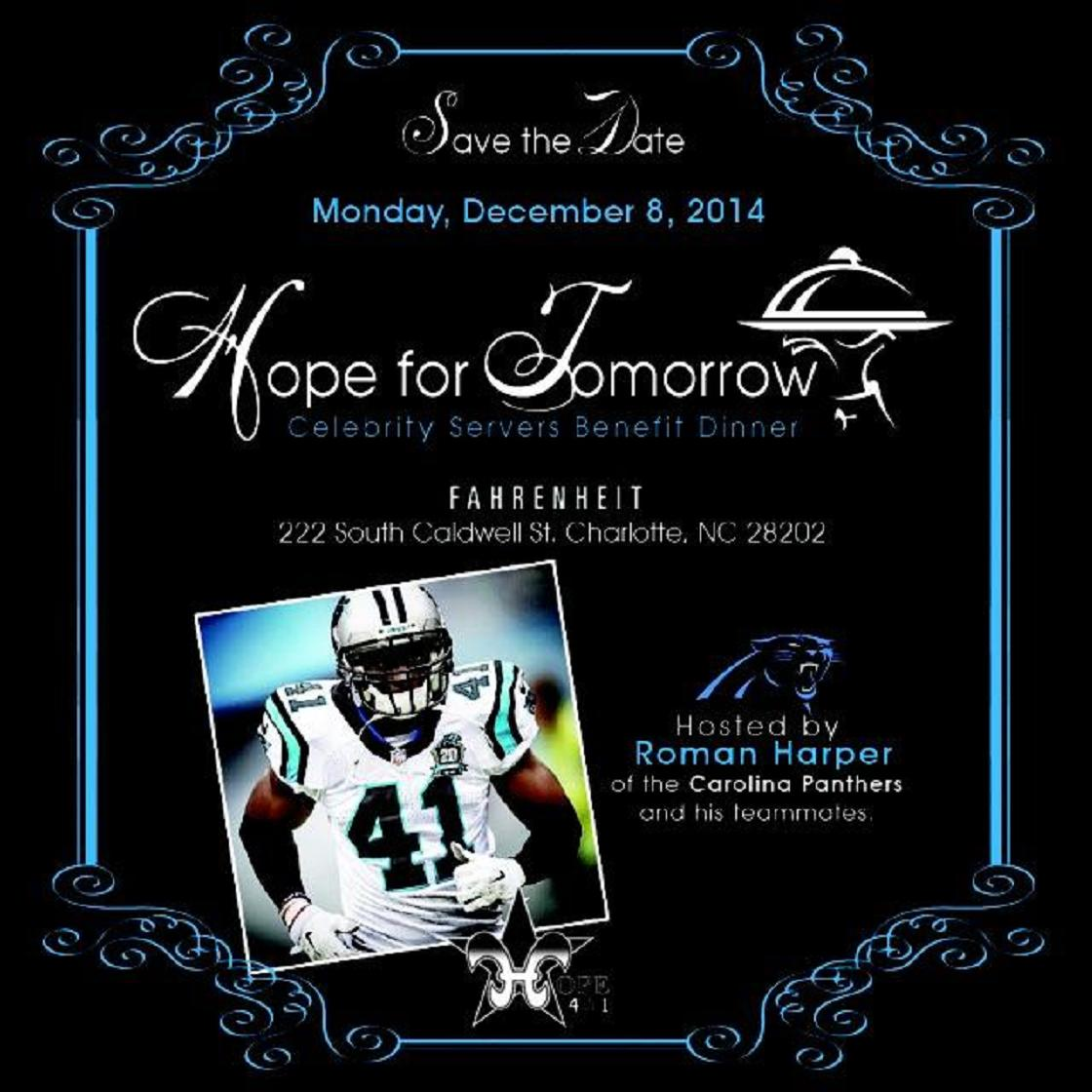 Join @Harp41/@HarpersHope_41 @Panthers @Rock1chef @JeffGordonWine @FahrenheitCLT for R youths! http://t.co/8ZUkJg8TTC http://t.co/gcpsJIToHn