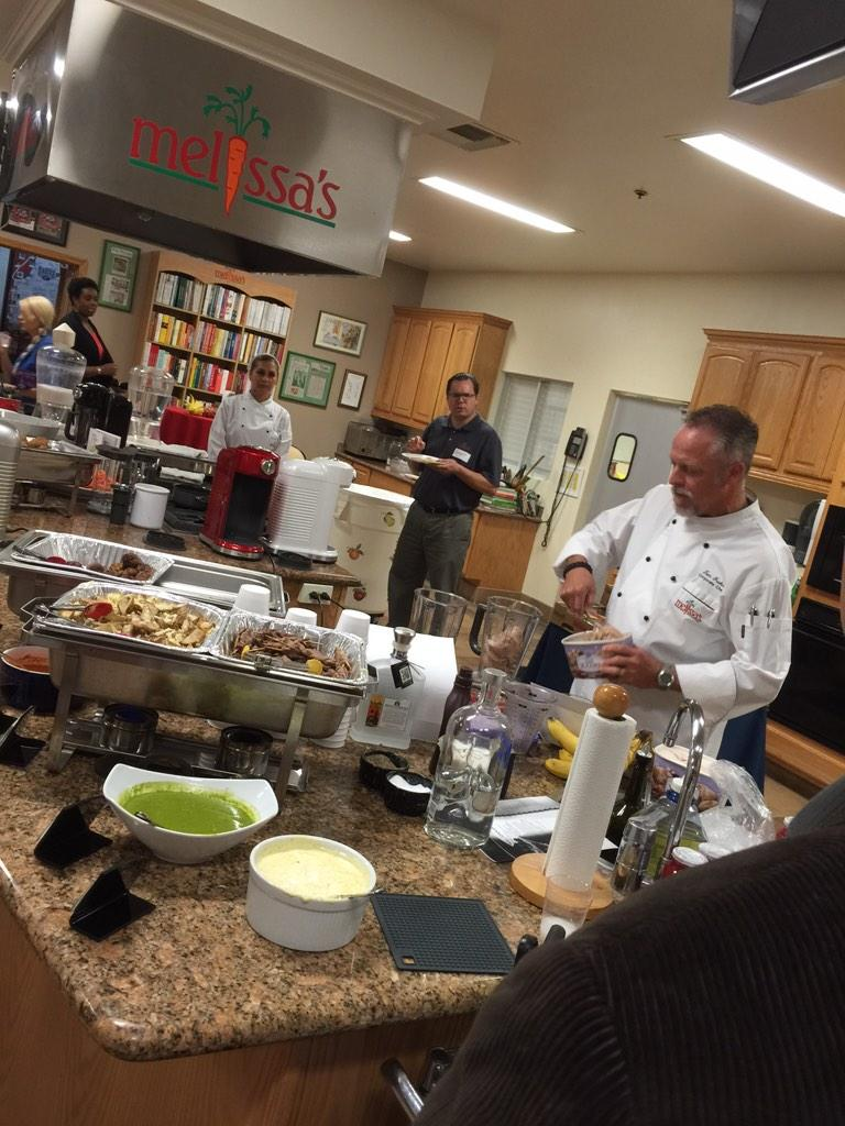 Good times @MelissasProduce for @KitchenAidUSA's #torrentparty http://t.co/nShimRKtjW