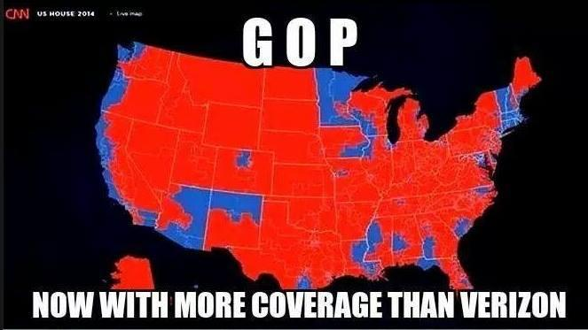 kerry on Twitter The GOP now with more coverage than Verizon