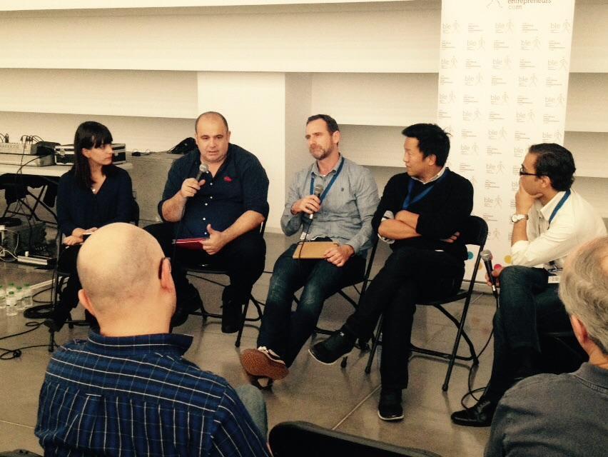 Interessant conversa sobre gaming amb @carlosblanco @leesimon @GinaTost i @LiamWPatton al @bcnentrepreneur http://t.co/XexNt6O3ZP