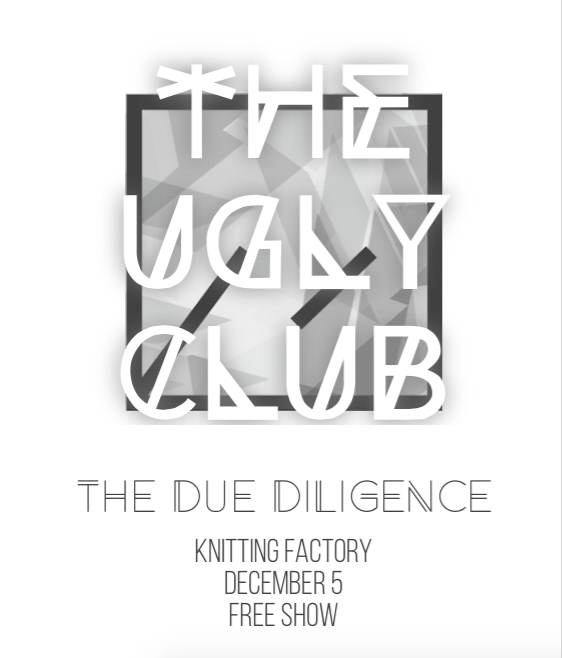 Dec. 5th - FREE show @KnitFactoryBK w/ the great @theDueDiligence : http://t.co/ZDC0Eeh7Ns http://t.co/2O41wajL70