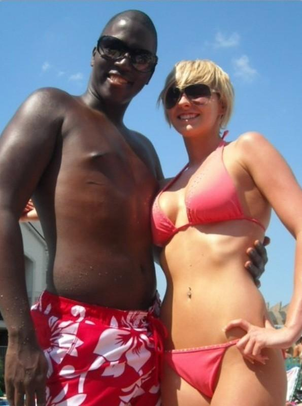 Interracial wife vacation