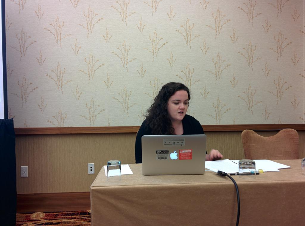 @tizlimbs is up first in the Digital African Studies panel at #asa2014 http://t.co/xnaFEdiAOL
