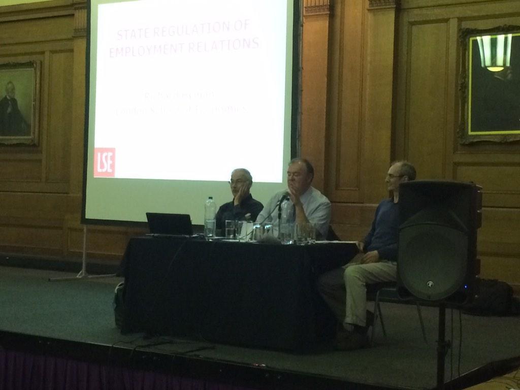 Prof Richard Hyman & Prof John Kelly on next #MIRS50 http://t.co/gvZljqf3aT