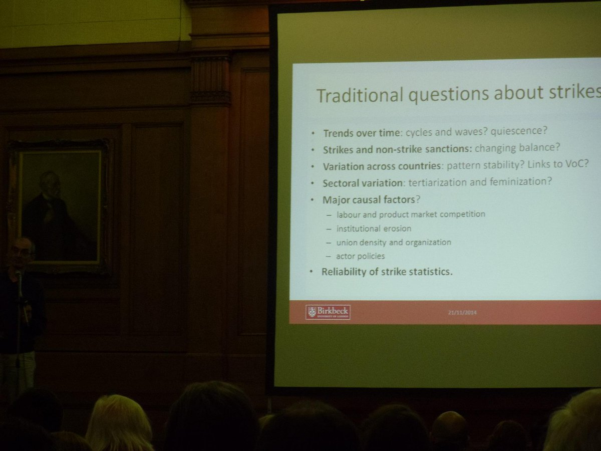#mirs50 Professor John Kelly discusses the 'traditional questions about strikes' http://t.co/6Gh1nUvNW7