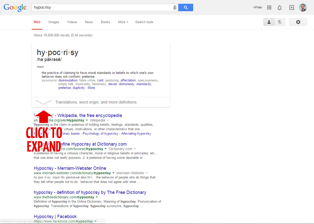"Google claims ""click to expand"" content may be misleading to users -- http://t.co/CfZIvviY0U"