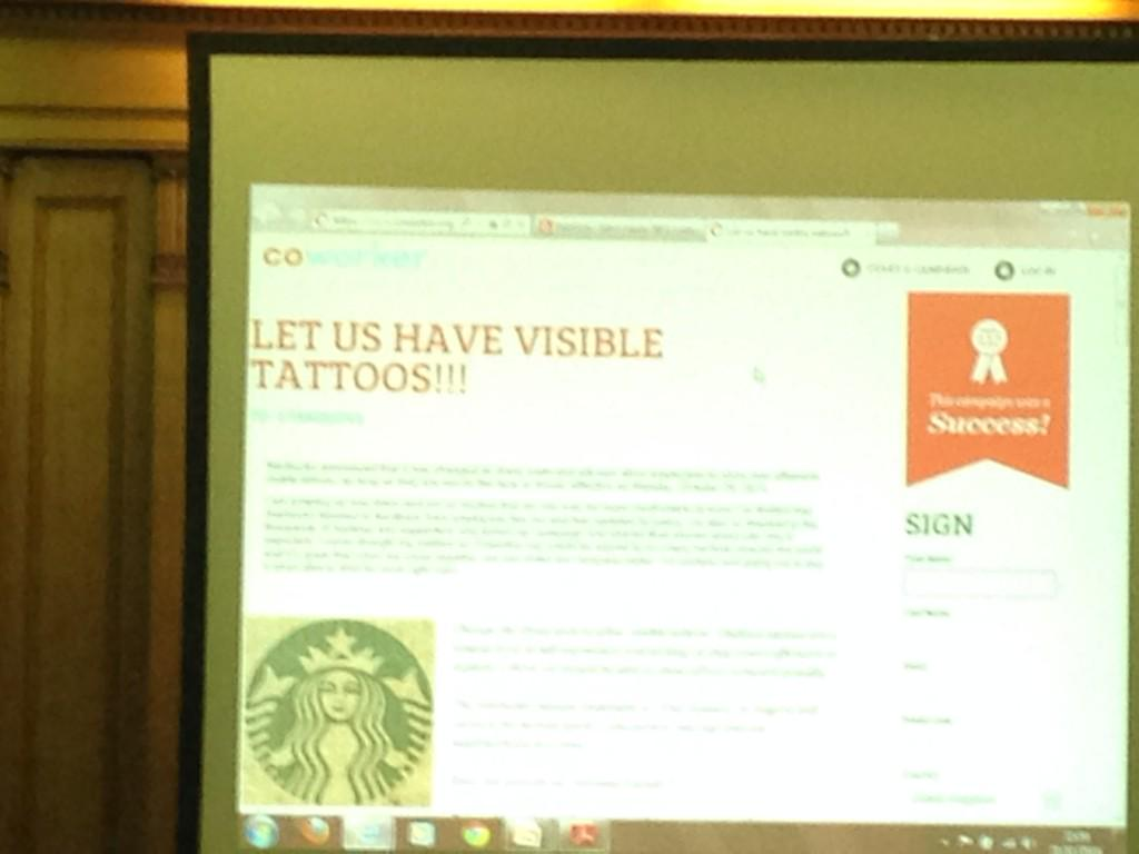 John Kelly refs @teamcoworker Starbucks campaign at #MIRS50 showcasing new forms of collective action http://t.co/9GsYcFsxBf