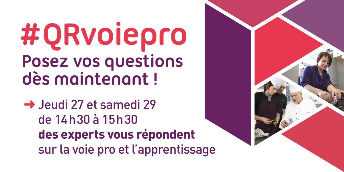 Thumbnail for Voie professionnelle, #apprentissage, les réponses à vos questions