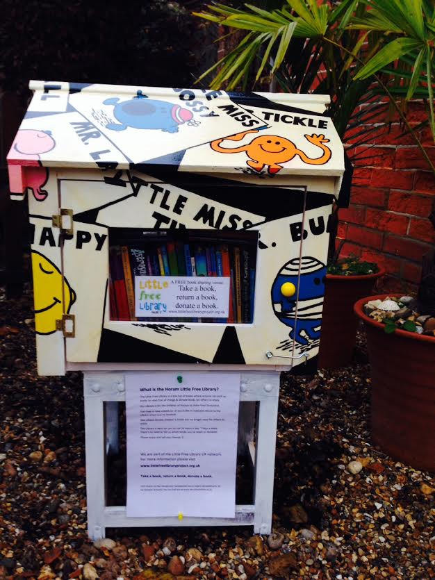 The Horam Little Free Library especially for children #LittleFreeLibrary @LFLProject http://t.co/ViBGwvC1Zg http://t.co/VHtvHkZA1C