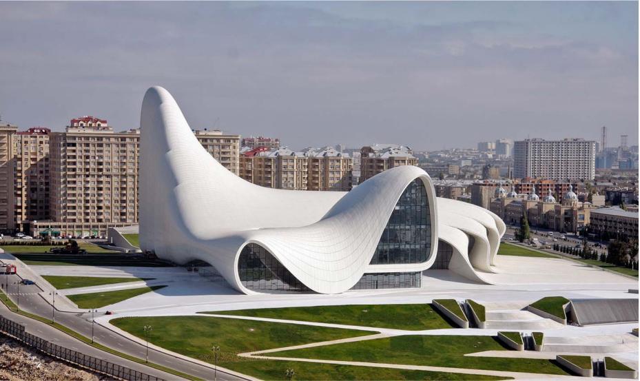 Hasil gambar untuk heydar aliyev center
