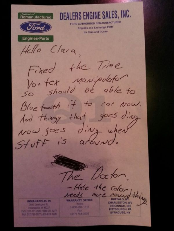 Trending: Car Mechanic Leaves Note for Whovian Car Owner http://t.co/lvsDmZqGxf http://t.co/wosYPSDvn6