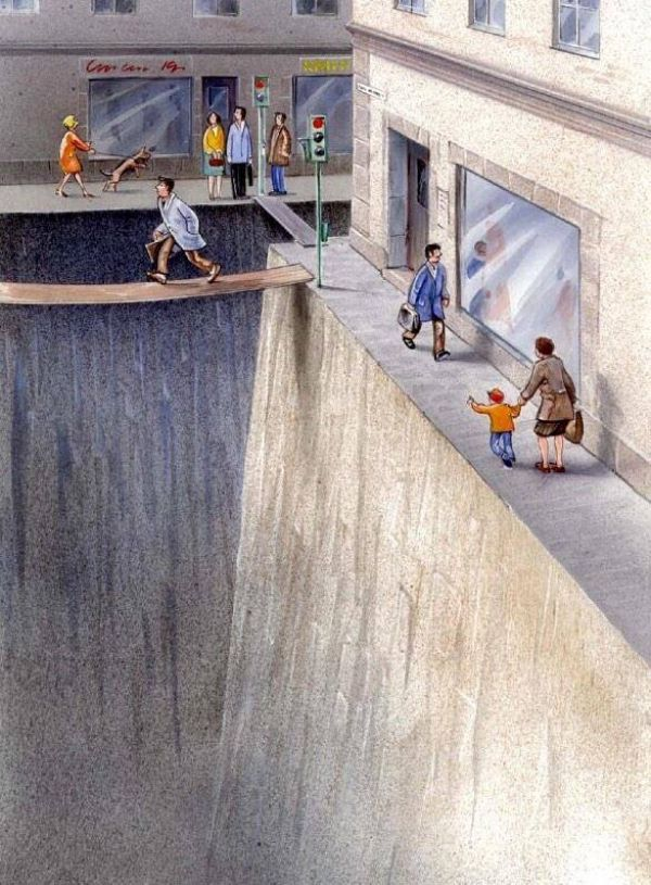 Using illustration to raise the awareness of how much we've surrendered our streets to cars: http://t.co/M7djpIpE6O http://t.co/GIFA2q1eHt