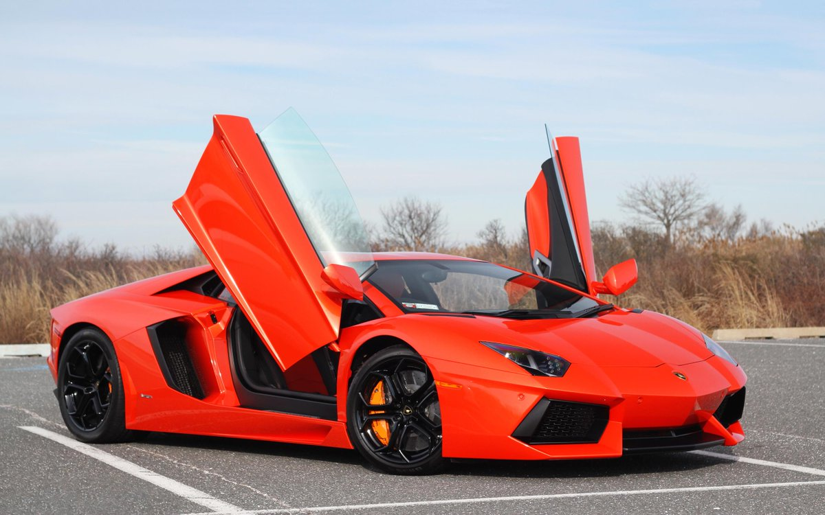 Hot Hot Red Lamborghini Special Seat And All Plus The Doors