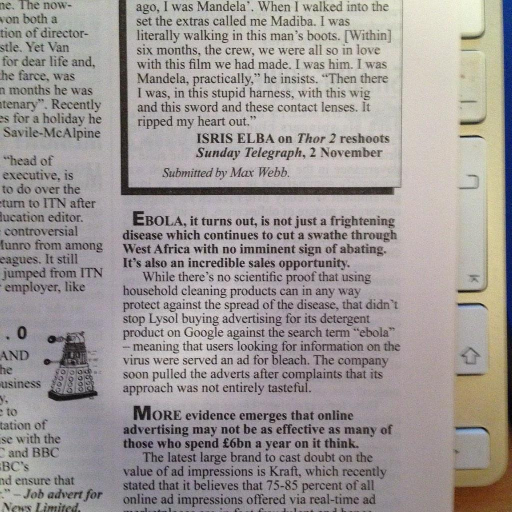@BobKnorpp this contender for #adfail5 was in Private Eye (a great UK read).