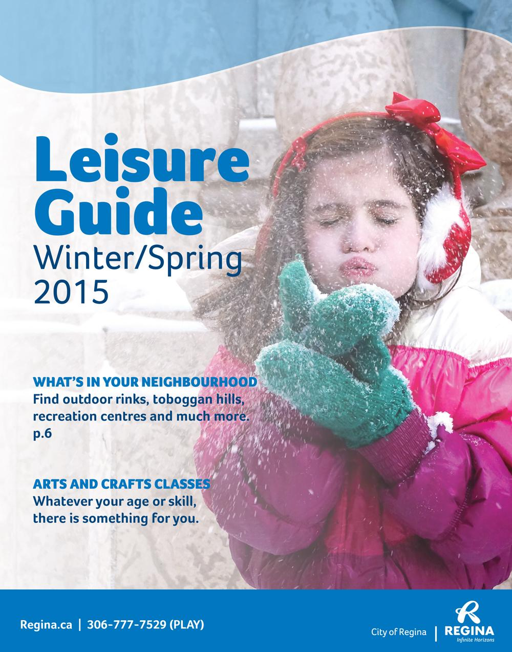 City of regina sees increase in leisure guide registration.