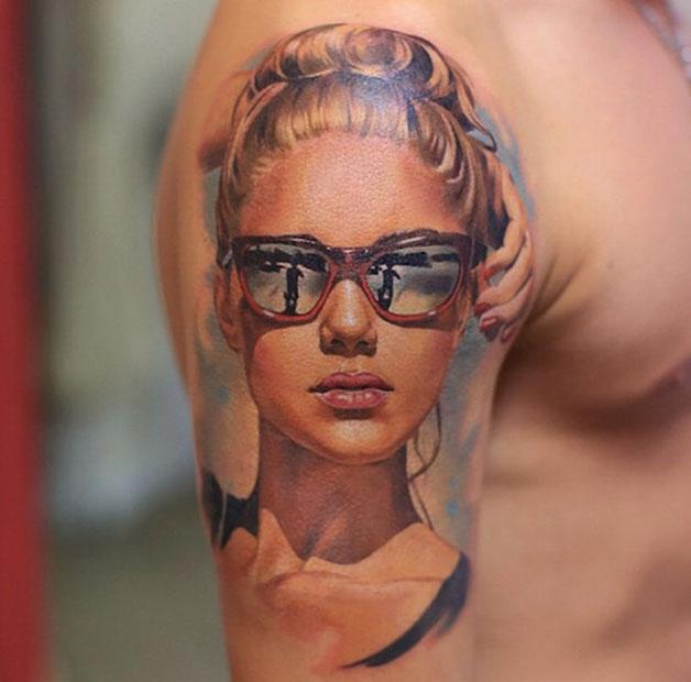B20mtBPCEAAFhQs - Tatuagens realistas da russa Valentina Ryabova