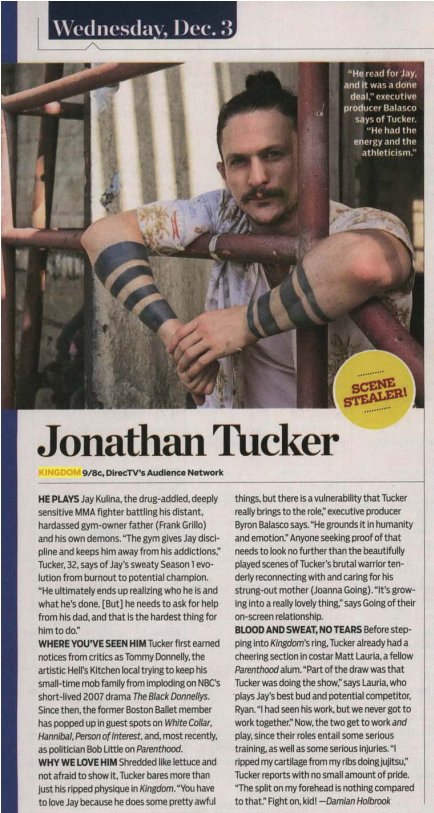 Congrats to #KingdomTV's @jonathanmtucker on being named @TVGuideMagazine's Scene Stealer -- so deserved! @TVGMDamian http://t.co/nzZ2oI5h4C