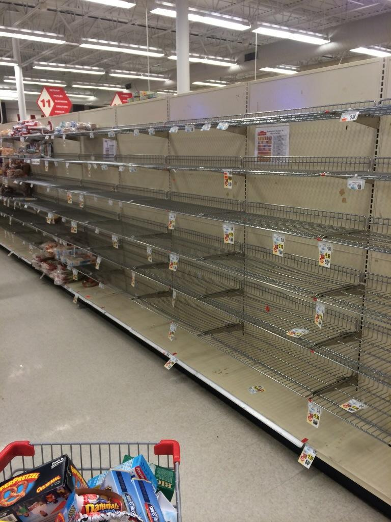 Pic from my wife's trip to Grocery store #buffalo http://t.co/p0SHoc2jtV