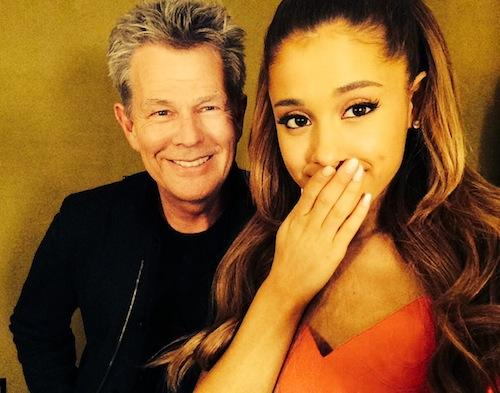 Beauty & The Beast, this beauty @ArianaGrande is the voice of a generation. Little hint at a possible collab. in 2015 http://t.co/cLInavx1hQ