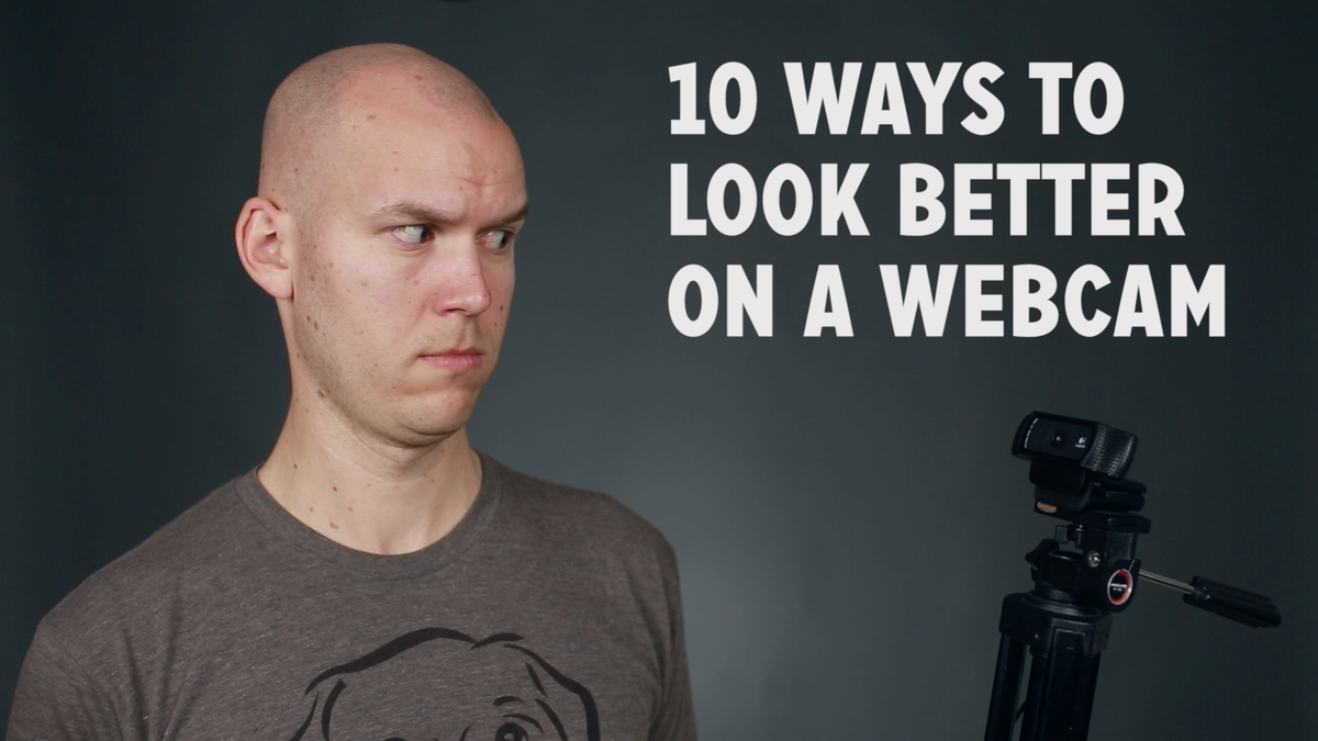 First episode of DIY Video Guy TV is live: 10 Ways to Look Better on a Webcam => http://t.co/hofrtyUPB5 http://t.co/Cvhi5yPTvN