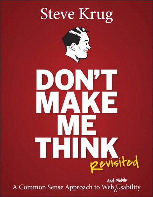 #Deal alert! Save 64% on Don't Make Me Think, Revisited by @skrug!  http://t.co/enkWndTDs5 http://t.co/KnNVpBMMHb