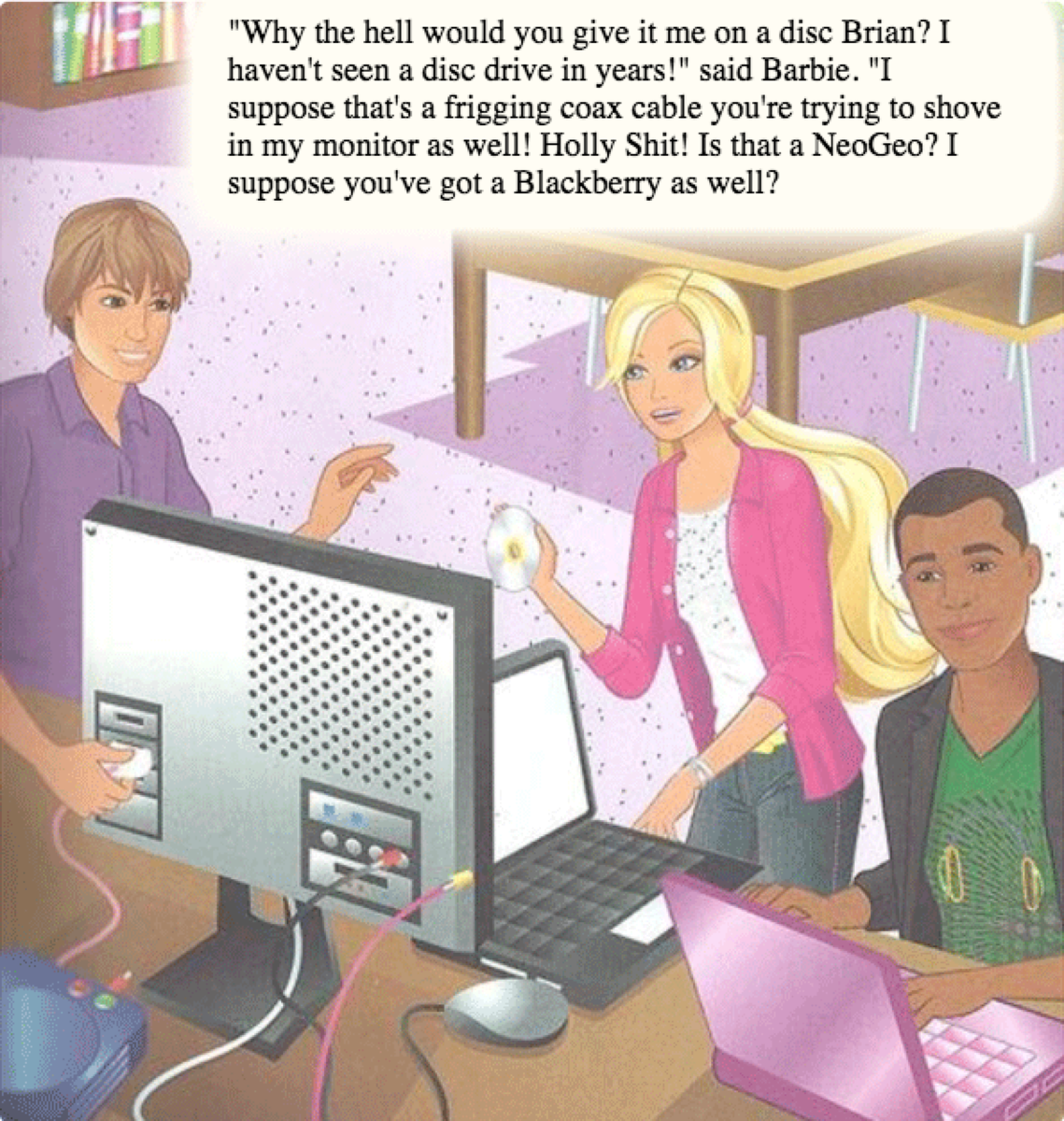 Those were the days #feministhackerbarbie http://t.co/58DA5Qcj5J