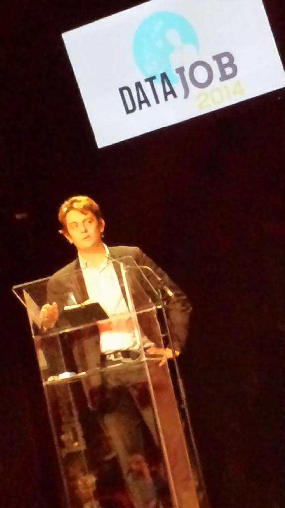Salon #datajob2014 inauguration @HenriVerdier : pour l'Etat la #data est au coeur des réformes http://t.co/DbYNQJGo2w