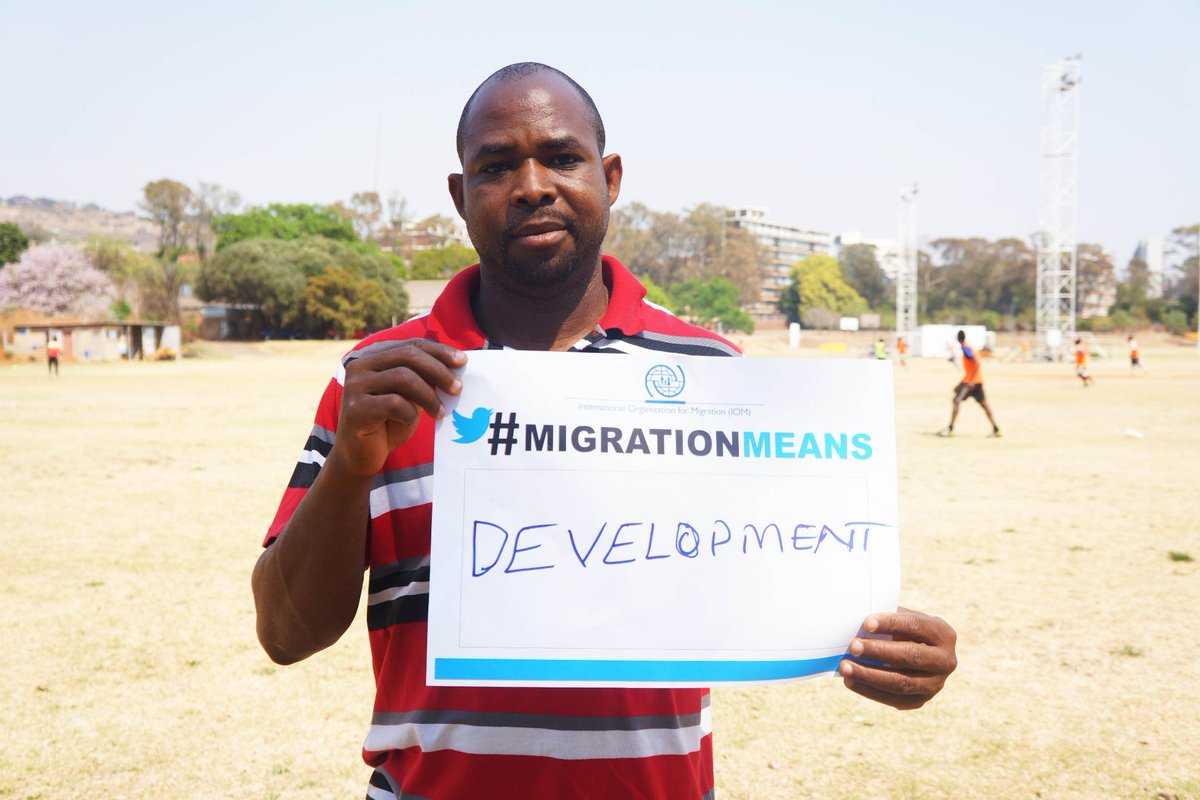 "Nigerian Sports Coach devoted his life to youth growth in migrant and SA youths. #MigrationMeans ""DEVELOPMENT"" to him http://t.co/xd42d6dYo0"