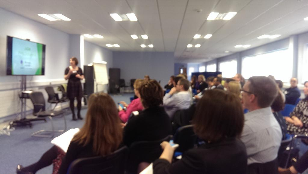 Inspiring day at #WILOldham14  with @WomenInLogistic @RuthWaring http://t.co/Wv9OZk84wW