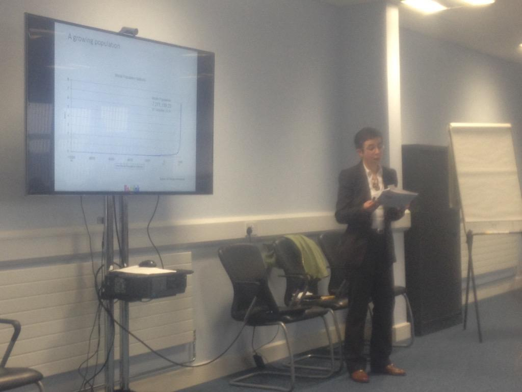 Hearing from @cjweetman at the @WomenInLogistic #WiLOldham14 AGM about the sustainability revolution http://t.co/Ppn8jpwi9l