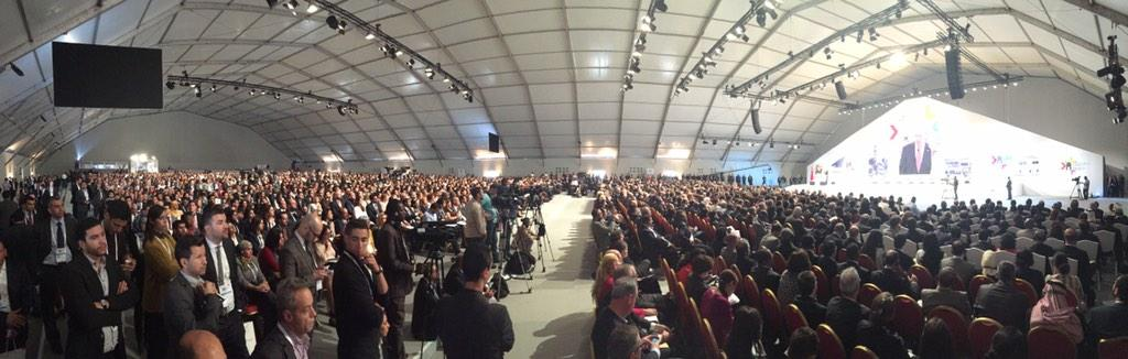 Panorama of the audience at #GES2014 http://t.co/pznDd1eg7W