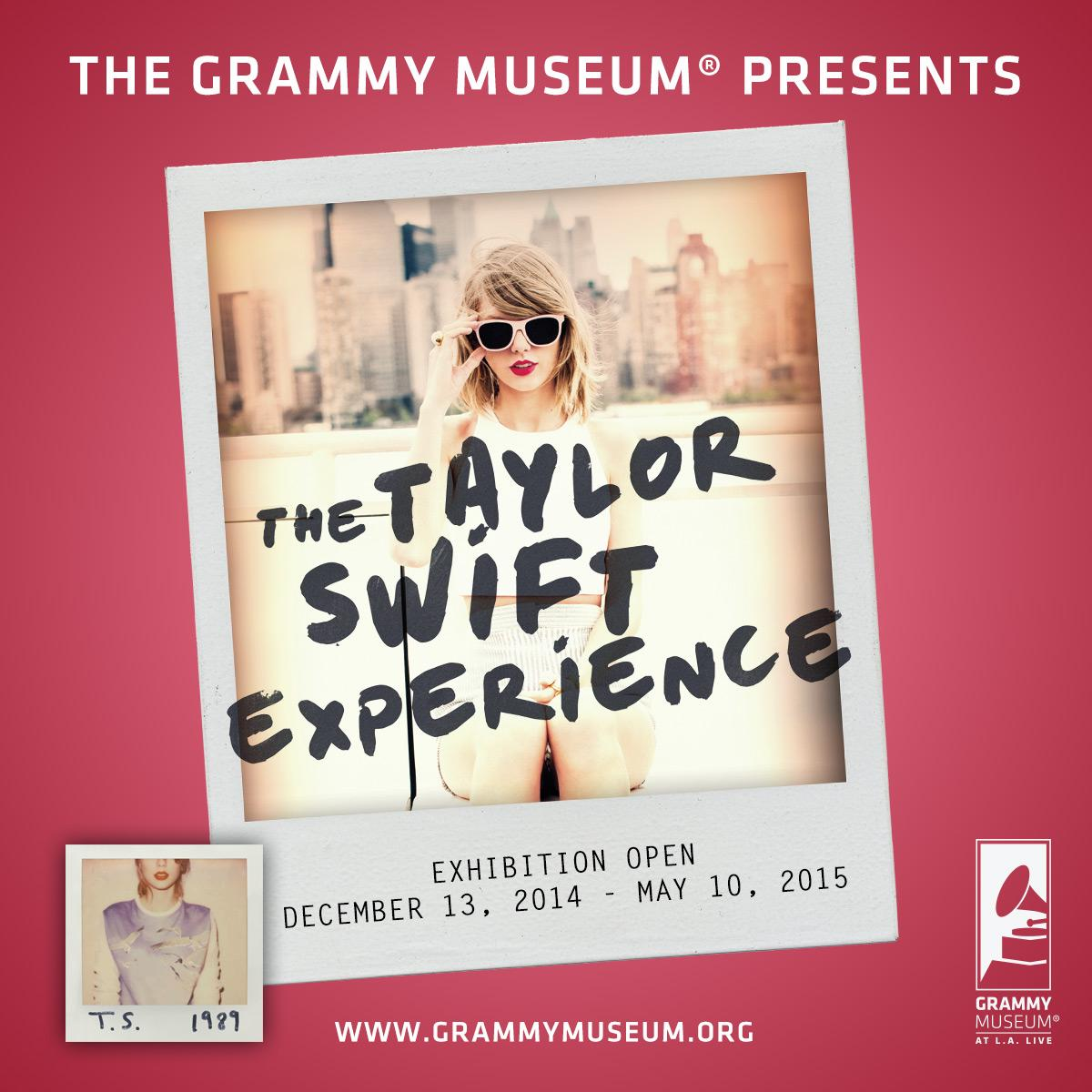 Just Announced!! The Taylor Swift Experience opens December 13! @taylorswift13 #TaylorSwiftEXP http://t.co/ABVTIH5zfF http://t.co/x0GXh0MYWb