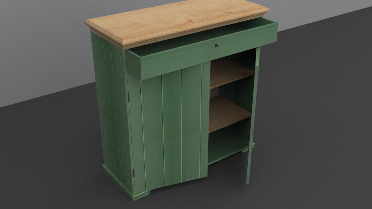 3dsimstudio On Twitter Quot Ikea Hurdal Linen Cabinet Green