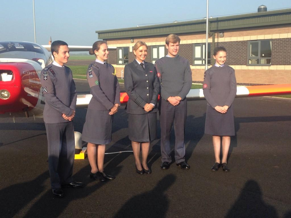 RT @GemsDawson: On @bbcemt at 6.30pm - I meet @carolvorders as she takes on a new role with the @aircadets http://t.co/1IoowYdwFQ