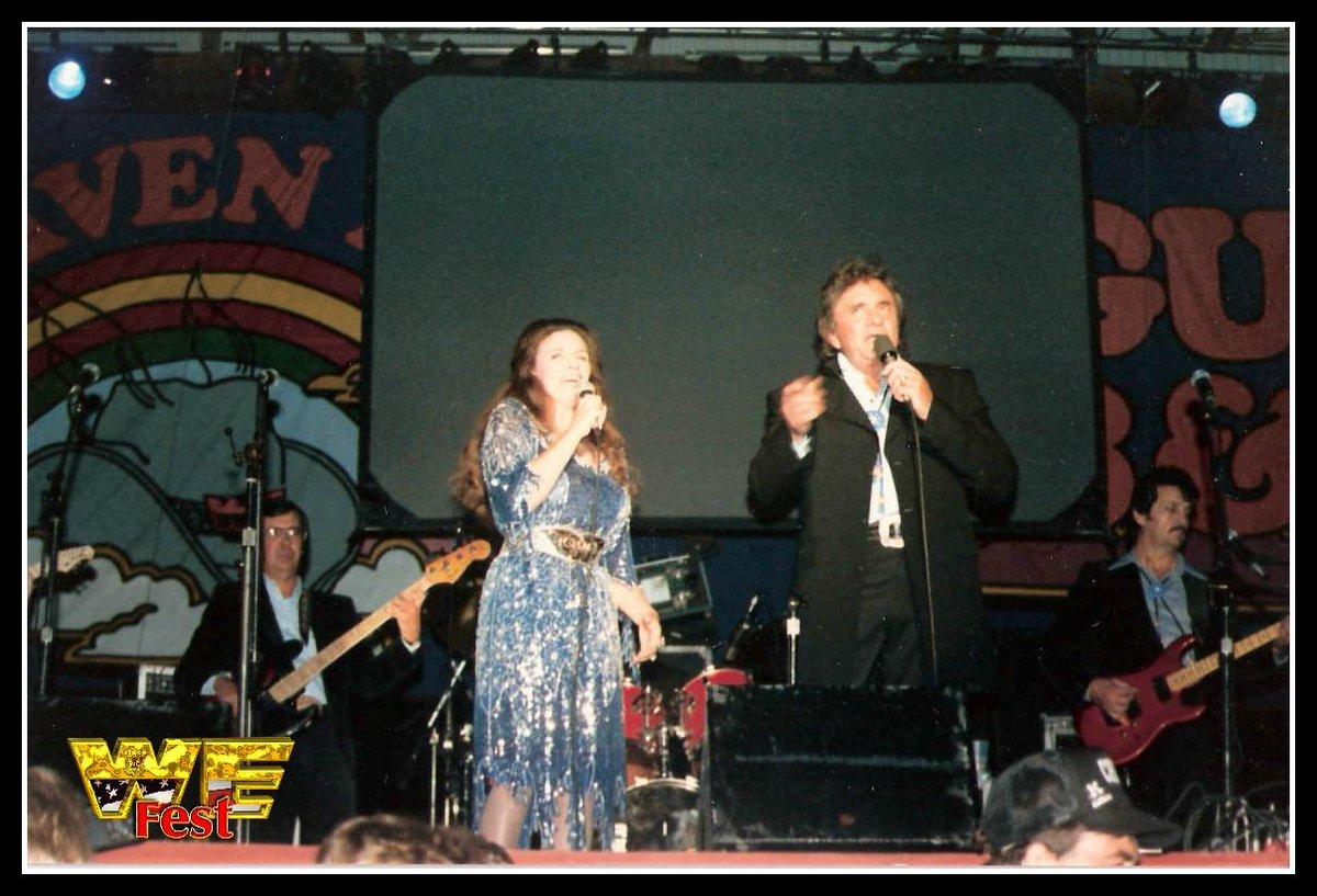 We Fest On Twitter Tbt We Fest Heaven In 87 When Johnny Cash