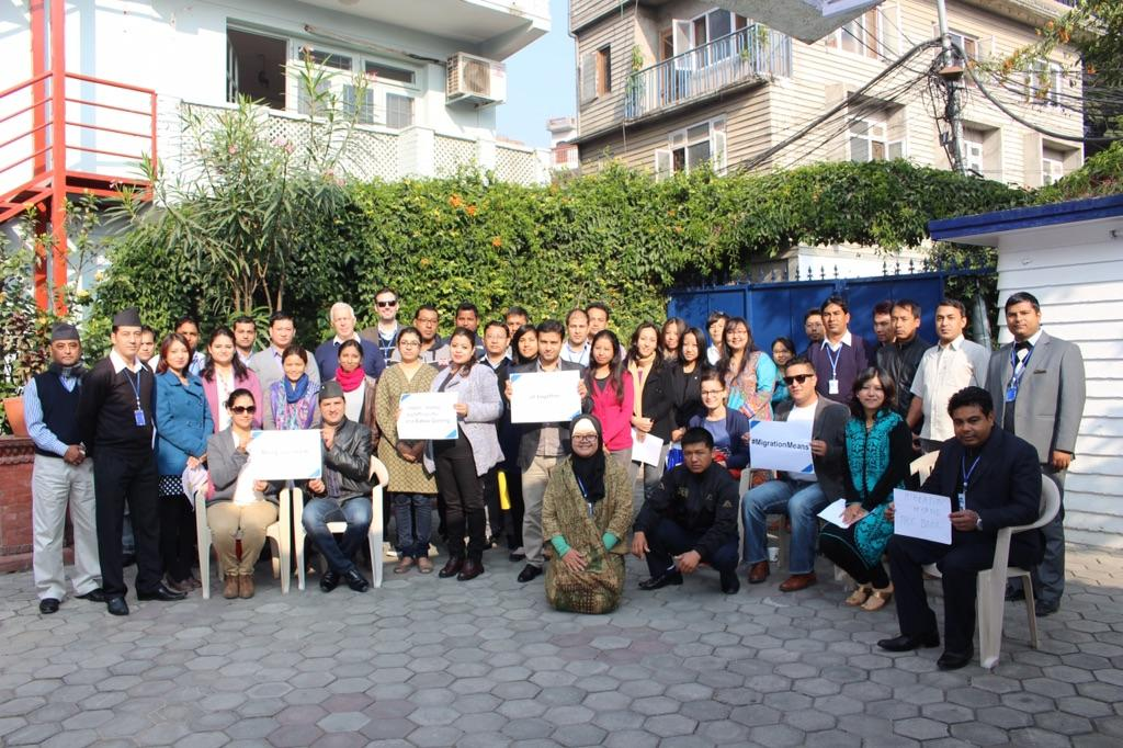 #MigrationMeans saying goodbyes until next time! @IOM_Nepal http://t.co/7FtXsoQz9Z