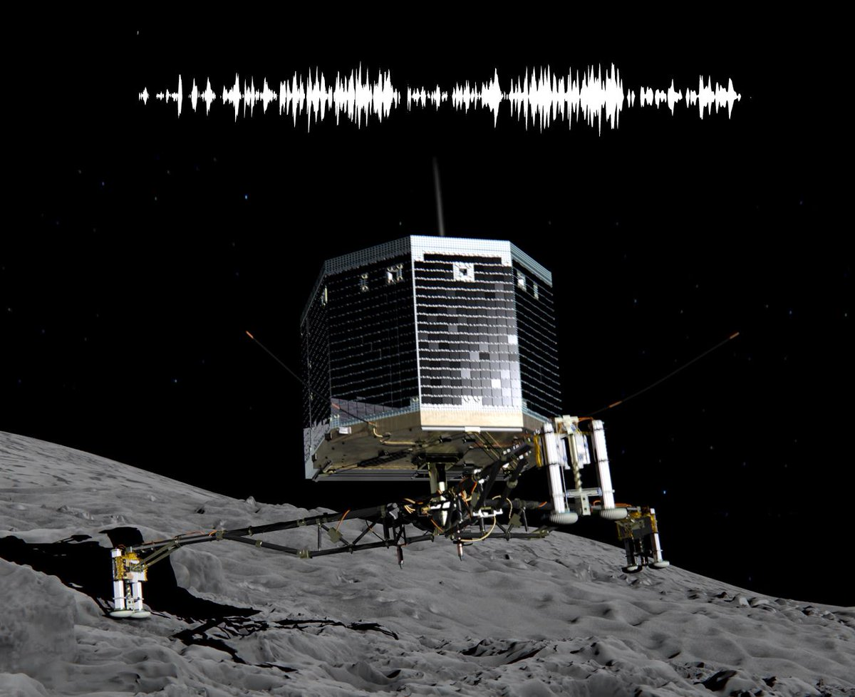 touchdown! rosettas philae probe lands on comet - HD 1371×1117