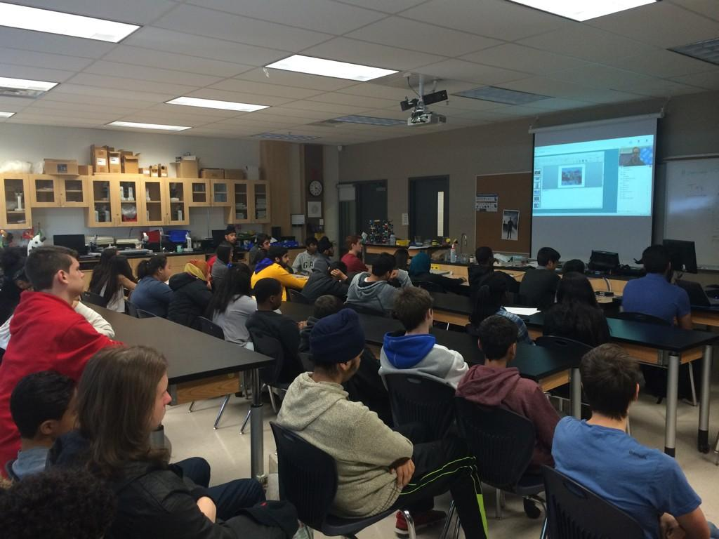 David Suzuki Grade 10s learning in international conference #peel21st #copunder20 @SuzukiScience http://t.co/Mvt9yjMgv5