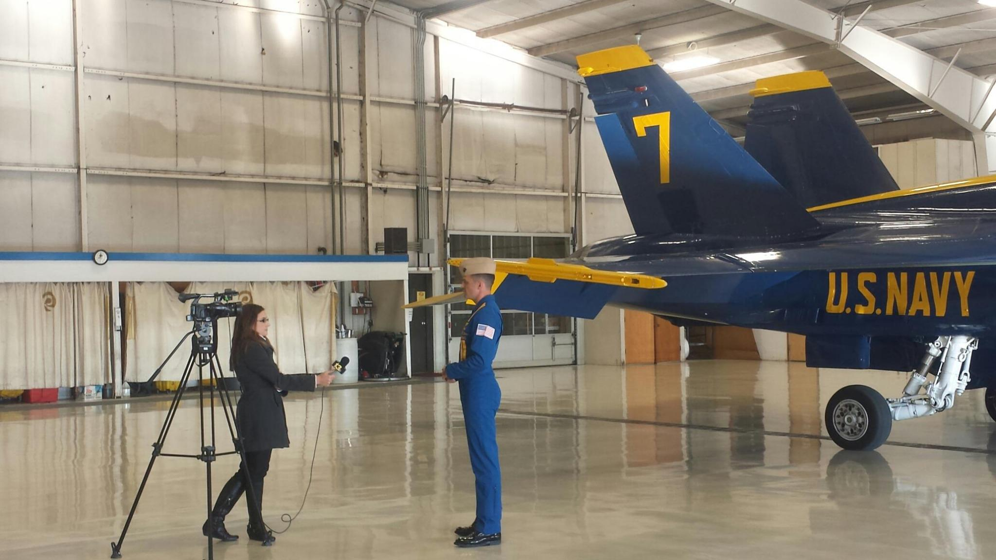 "Chartwell Agency on Twitter: ""The @BlueAngels stopped by ..."