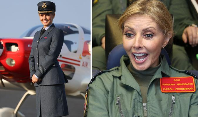 """@Daily_Express: Maverick or Goose? http://t.co/YWN2piLgiu pilot @carolvorders honoured by the Royal Air Force http://t.co/N60BeOVfOs"" x"