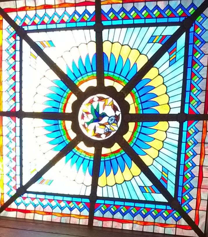 Gary Bass On Twitter Stained Glass Skylight Terraza Room
