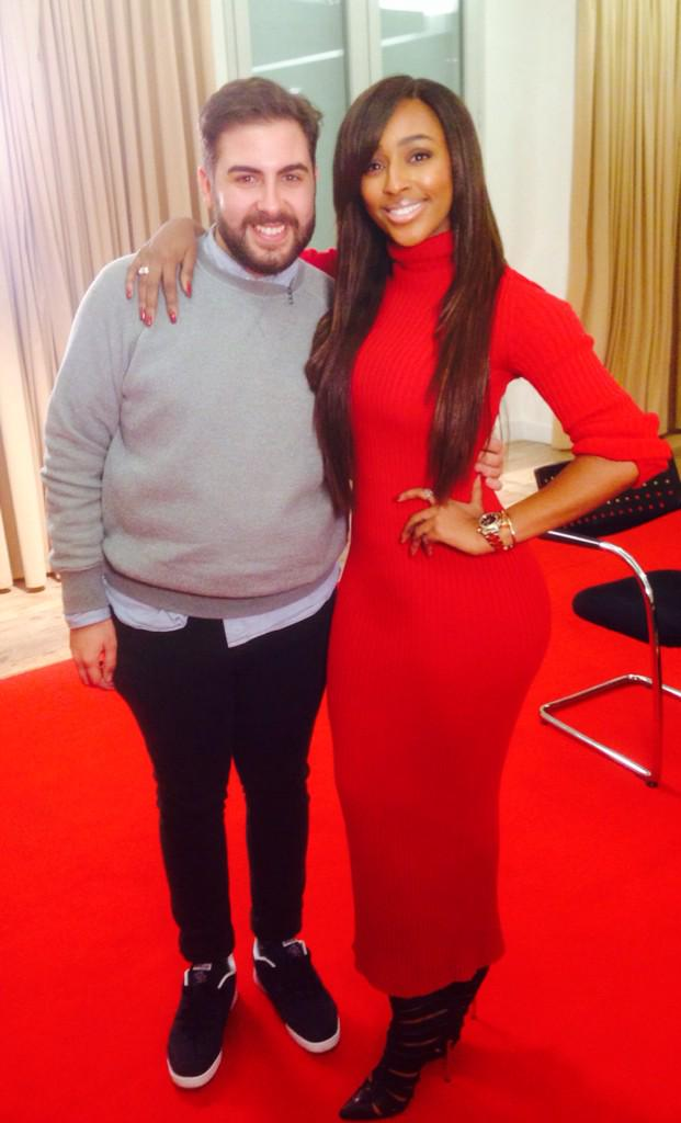 Great afternoon with the one and only .. @AndreaFaustini1 ! ❤️❤️ http://t.co/au54cuUYzu