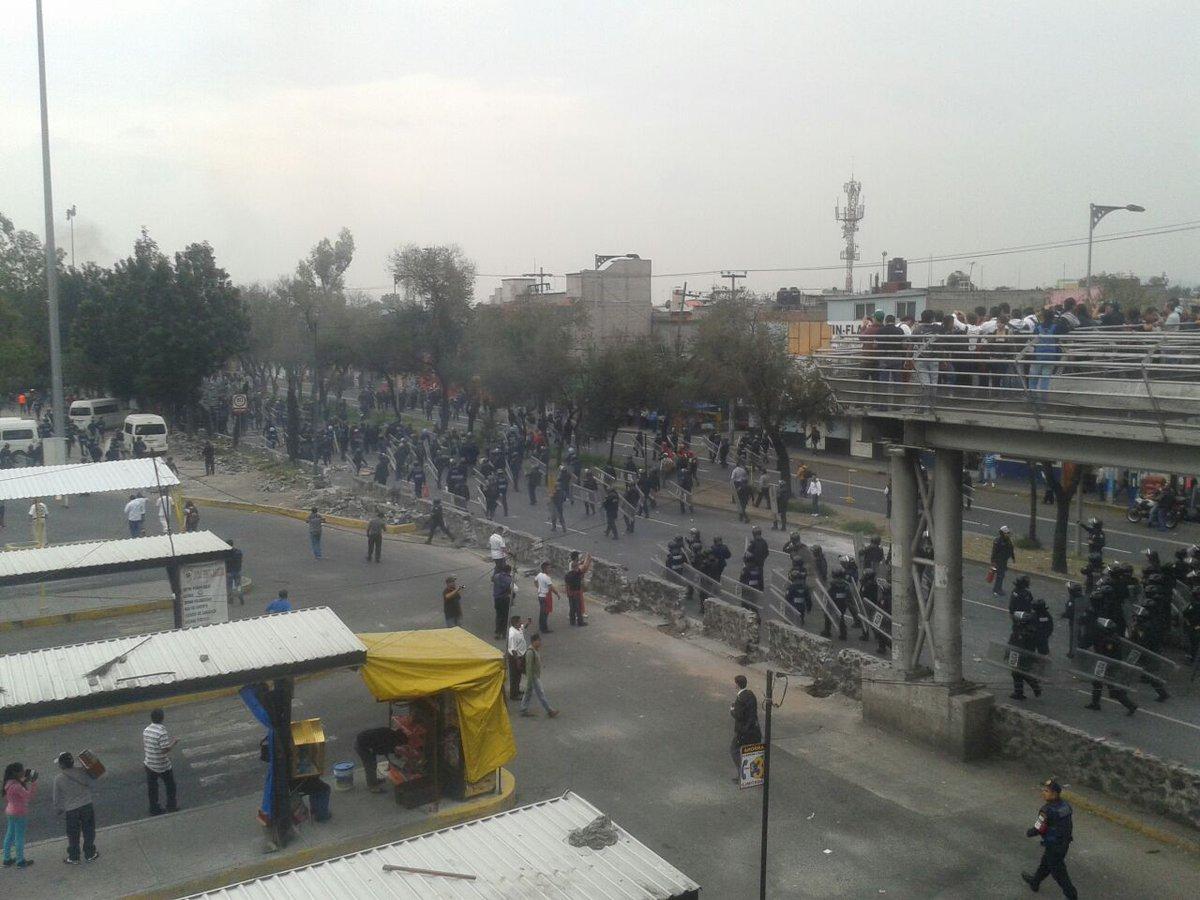 Circuito Zaragoza : Fotos reportan enfrentamiento en zaragoza y circuito